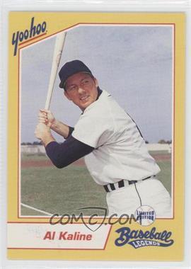 1993 Yoo-Hoo Limited Edition Baseball Legends - [Base] #ALKA - Al Kaline