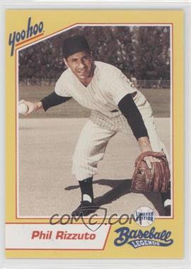 1993 Yoo-Hoo Limited Edition Baseball Legends - [Base] #PHRI - Phil Rizzuto