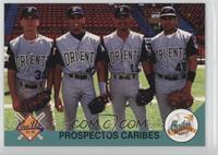 Magglio Ordonez, Carlos Lopez, Wil Polidor, Marcos Manrique