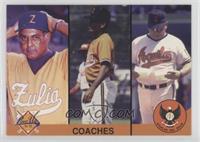Coaches (Rudben Amaro, Cesar Gutierrez, Noe Maduro)