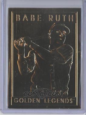 1994-97 Golden Legends of Baseball 22K - [Base] #GLT - Babe Ruth