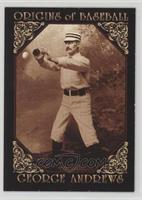 George Andrews All Baseball Cards