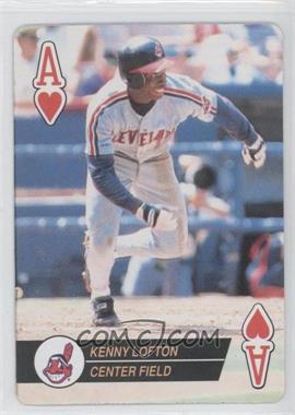 1994 Bicycle Baseball Aces Playing Cards - Box Set [Base] #AH - Kenny Lofton
