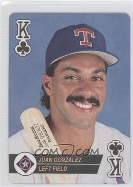 1994 Bicycle Baseball Aces Playing Cards - Box Set [Base] #KC - Juan Gonzalez