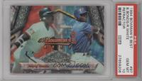 Barry Bonds, Rondell White [PSA 10]