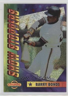 1994 Church's Chicken Show Stoppers - Restaurant [Base] #2 - Barry Bonds