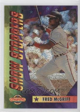 1994 Church's Chicken Show Stoppers - Restaurant [Base] #6 - Fred McGriff