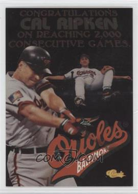 1994 Classic Cal Ripken Jr. - [Base] #CR1 - Cal Ripken Jr.