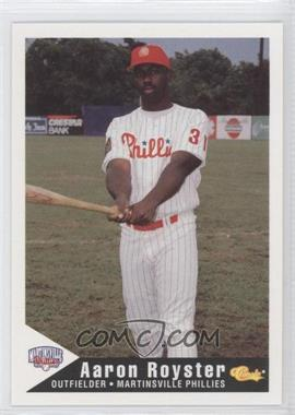1994 Classic Martinsville Phillies - [Base] #22 - Aaron Royster