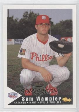 1994 Classic Martinsville Phillies - [Base] #28 - Samuel Wampler