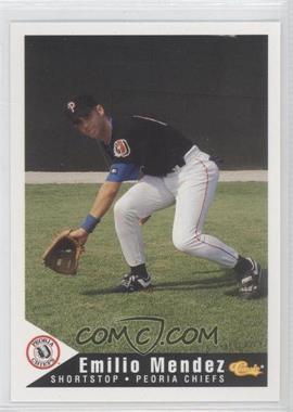1994 Classic Peoria Chiefs - [Base] #19 - Emilio Mendez