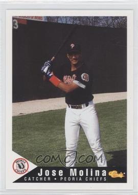 1994 Classic Peoria Chiefs - [Base] #20 - Jose Molina