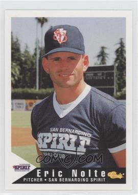 1994 Classic San Bernardino Spirit - [Base] #13 - Eric Nolte