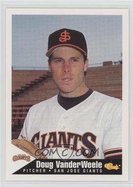 1994 Classic San Jose Giants - [Base] #24 - Doug Vanderweele