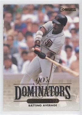 1994 Donruss - 90's Dominators Batting Average #7 - Barry Bonds