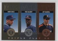 Fred McGriff, Mark Grace, Jeff Bagwell
