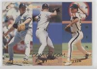 Chris Bosio, Jim Abbott, Darryl Kile