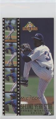 1994 Fleer Extra Bases - Second Year Stars #12 - Pedro Martinez