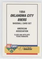 Oklahoma City 89ers Team