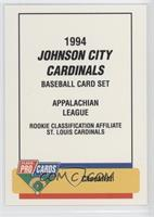 Checklist - Johnson City Cardinals