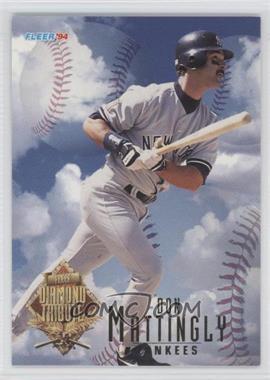1994 Fleer Update - Box Set Diamond Tribute #6 - Don Mattingly