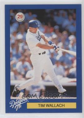 1994 Los Angeles Dodgers D.A.R.E. - [Base] #29 - Tim Wallach