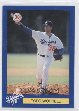 1994 Los Angeles Dodgers D.A.R.E. - [Base] #38 - Todd Worrell