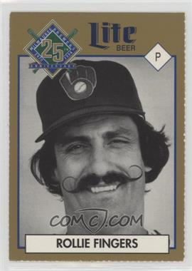 1994 Miller Brewing Milwaukee Brewers 25 Year Commemorative - [Base] #ROFI.1 - Rollie Fingers (Portrait)
