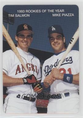 1994 Mother's Cookies 1993 Rookies of the Year - Food Issue [Base] #1 - Tim Salmon, Mike Piazza