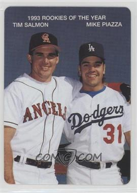 1994 Mother's Cookies 1993 Rookies of the Year - Food Issue [Base] #2 - Tim Salmon, Mike Piazza