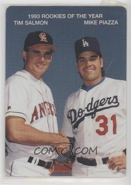 1994 Mother's Cookies 1993 Rookies of the Year - Food Issue [Base] #3 - Tim Salmon, Mike Piazza
