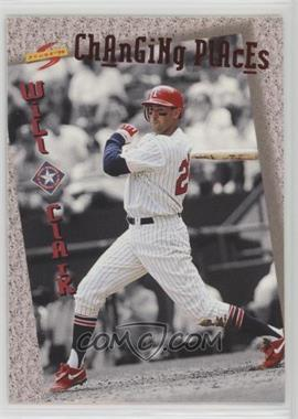 1994 Score Rookie & Traded - Changing Places #CP1 - Will Clark