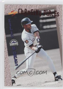 1994 Score Rookie & Traded - Changing Places #CP7 - Ellis Burks