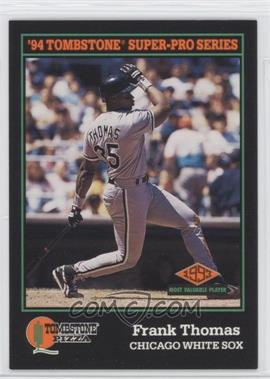 1994 Score Tombstone Pizza - Food Issue [Base] #29 - Frank Thomas