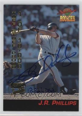 1994 Signature Rookies - Tuff Stuff Promos - Signatures [Autographed] #P4 - J.R. Phillips /1562