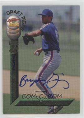 1994 Signature Rookies Draft Picks - [Base] - Autographs [Autographed] #54 - Bryon Gainey /7750