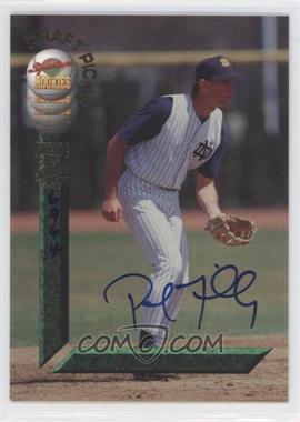 1994 Signature Rookies Draft Picks - [Base] - Autographs [Autographed] #59 - Paul Failla /7750