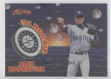 1994 Sportflics 2000 Rookie & Traded - Starflics #TR11 - Alex Rodriguez /5000