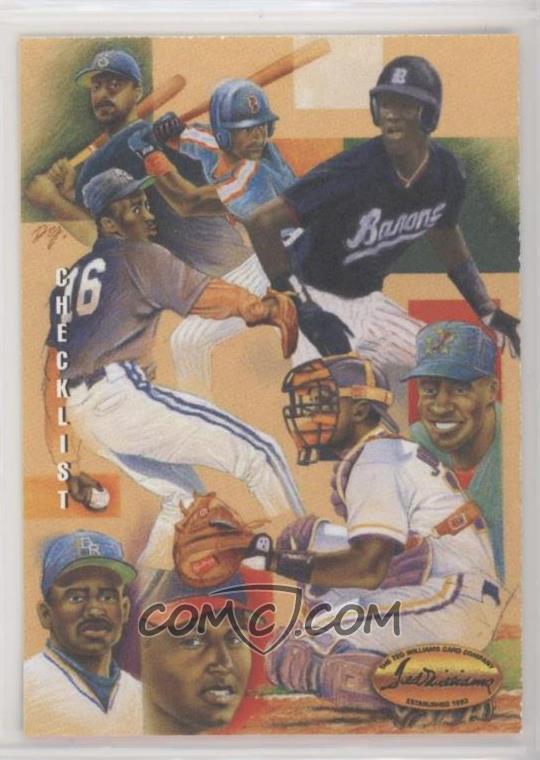 1994 Ted Williams Card Company Dan Gardiner Collection Dg9