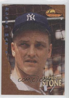 1994 Ted Williams Card Company - Etched in Stone #ES3 - Roger Maris