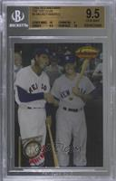 Mickey Mantle, Ted Williams [BGS 9.5 GEM MINT]