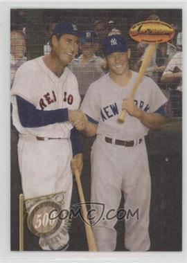 1994 Ted Williams Card Company - The 500 Club #5C4 - Mickey Mantle, Ted Williams