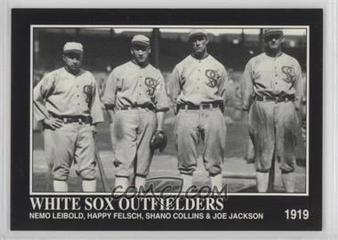 1994 The Sporting News Conlon Collection - [Base] #1042 - Nemo Leibold, Happy Felsch, Shano Collins, Joe Jackson