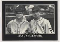 Lloyd Waner Baseball Cards