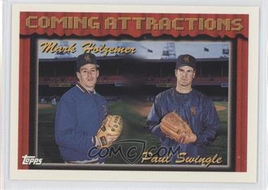 1994 Topps - [Base] #765 - Mark Holzemer, Paul Swingle