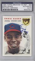 Ernie Banks [PSA/DNA Certified Auto]
