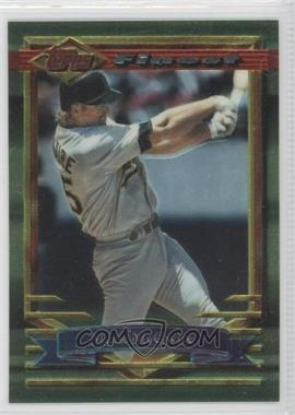 1994 Topps Finest - [Base] - Preproduction #78 - Mark McGwire