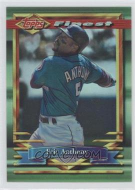1994 Topps Finest - [Base] - Refractor #349 - Eric Anthony