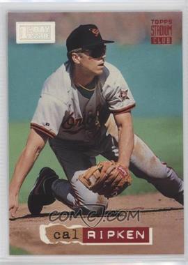 1994 Topps Stadium Club - [Base] - 1st Day Issue #373 - Cal Ripken Jr.