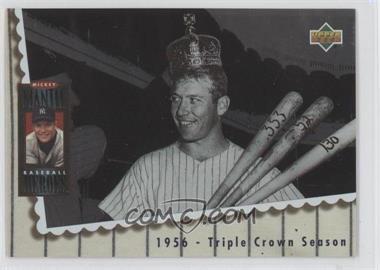 1994 Upper Deck - Mickey Mantle Baseball Heroes #66 - Mickey Mantle